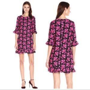 """CECE Petite """"Clara Dress"""" in Petal Pathway 4P EUC"""
